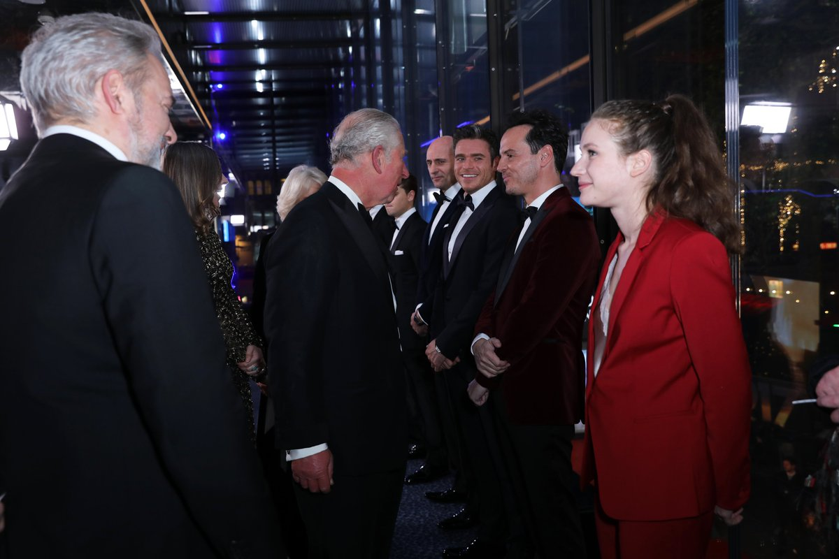 The Prince of Wales is Patron of The British Film Institute and is an avid supporter of those working in the film and television industry.