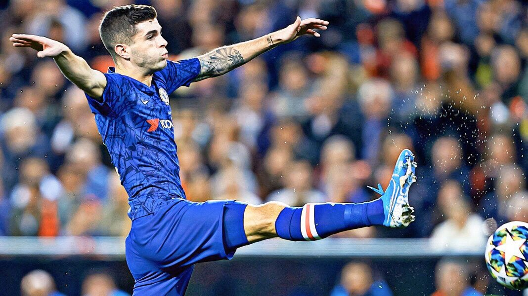 "Lampard: ""Pulisic has got the ability to go on to the extra level, which is the top-level of world football."" #CFC"