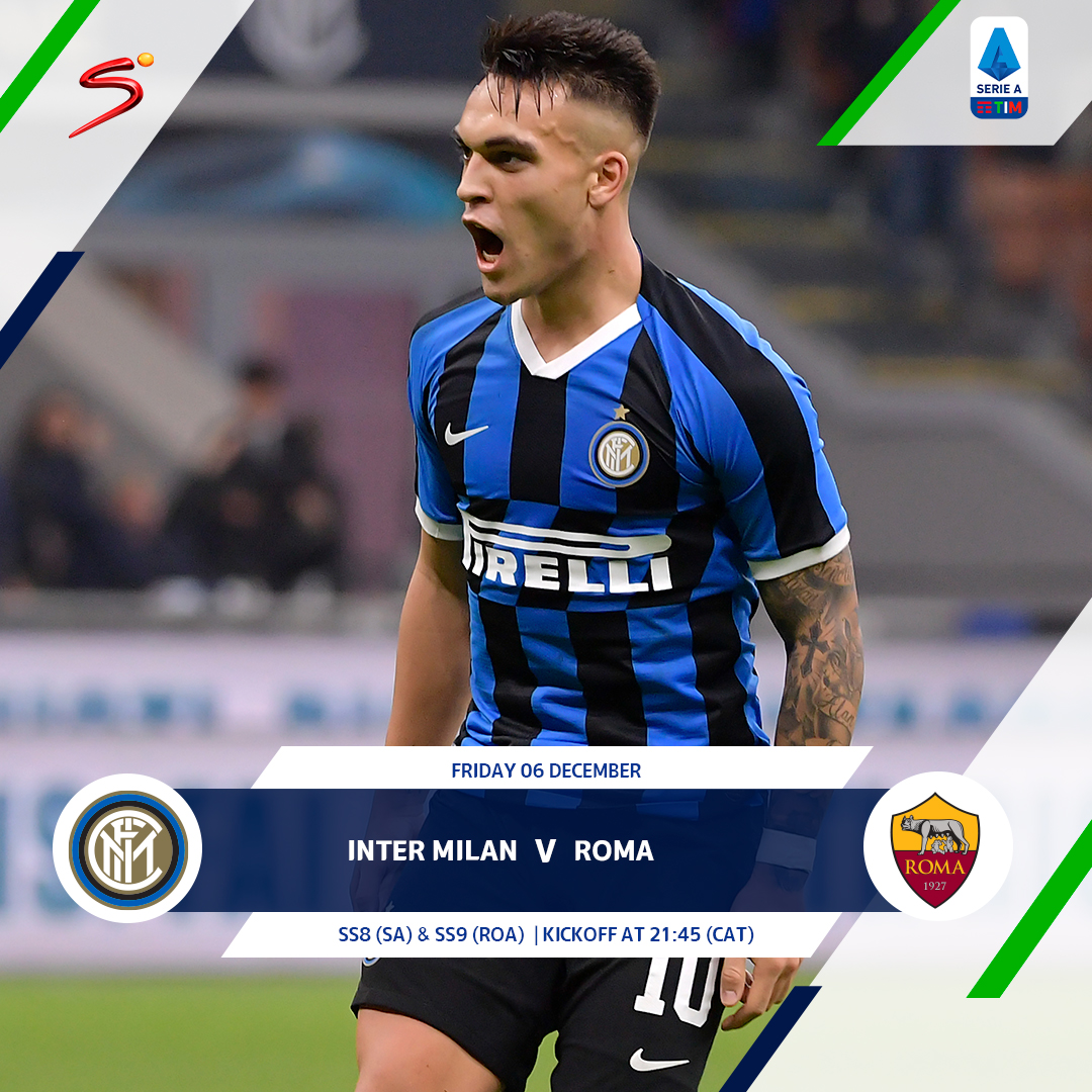 Image for the Tweet beginning: Inter Milan will look to