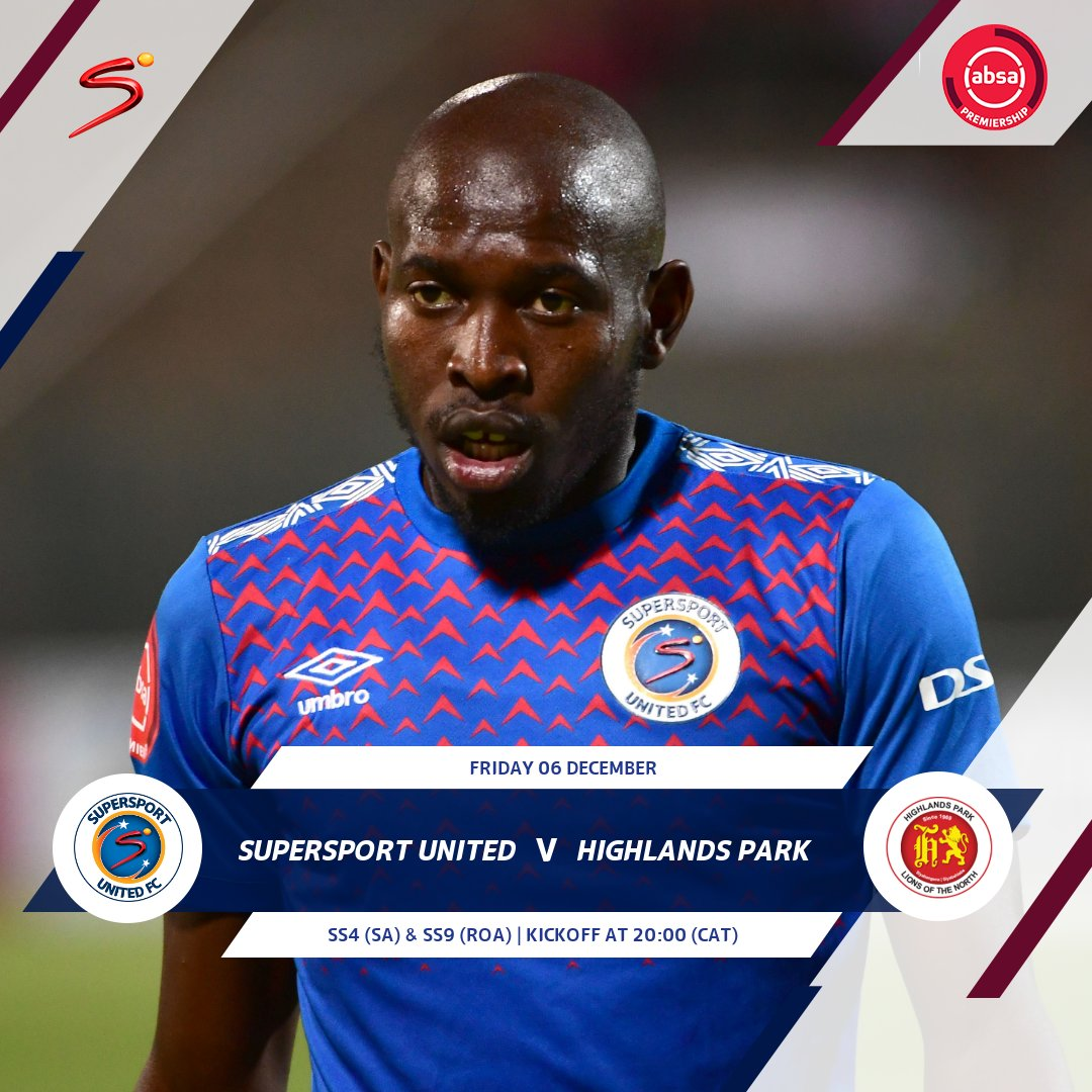 Image for the Tweet beginning: SuperSport United kick off our