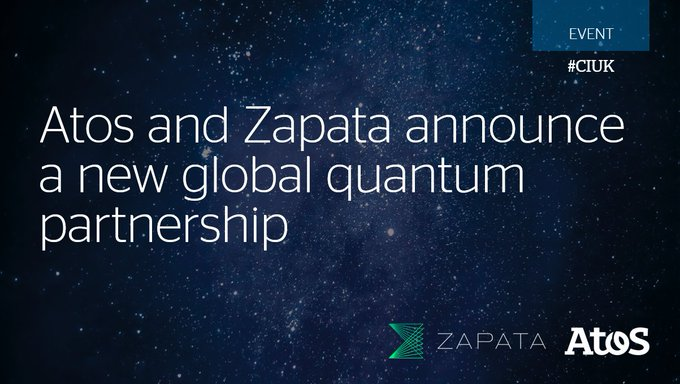 We've partnered with @ZapataComputing to deliver end-to-end #quantumcomputing solutions....