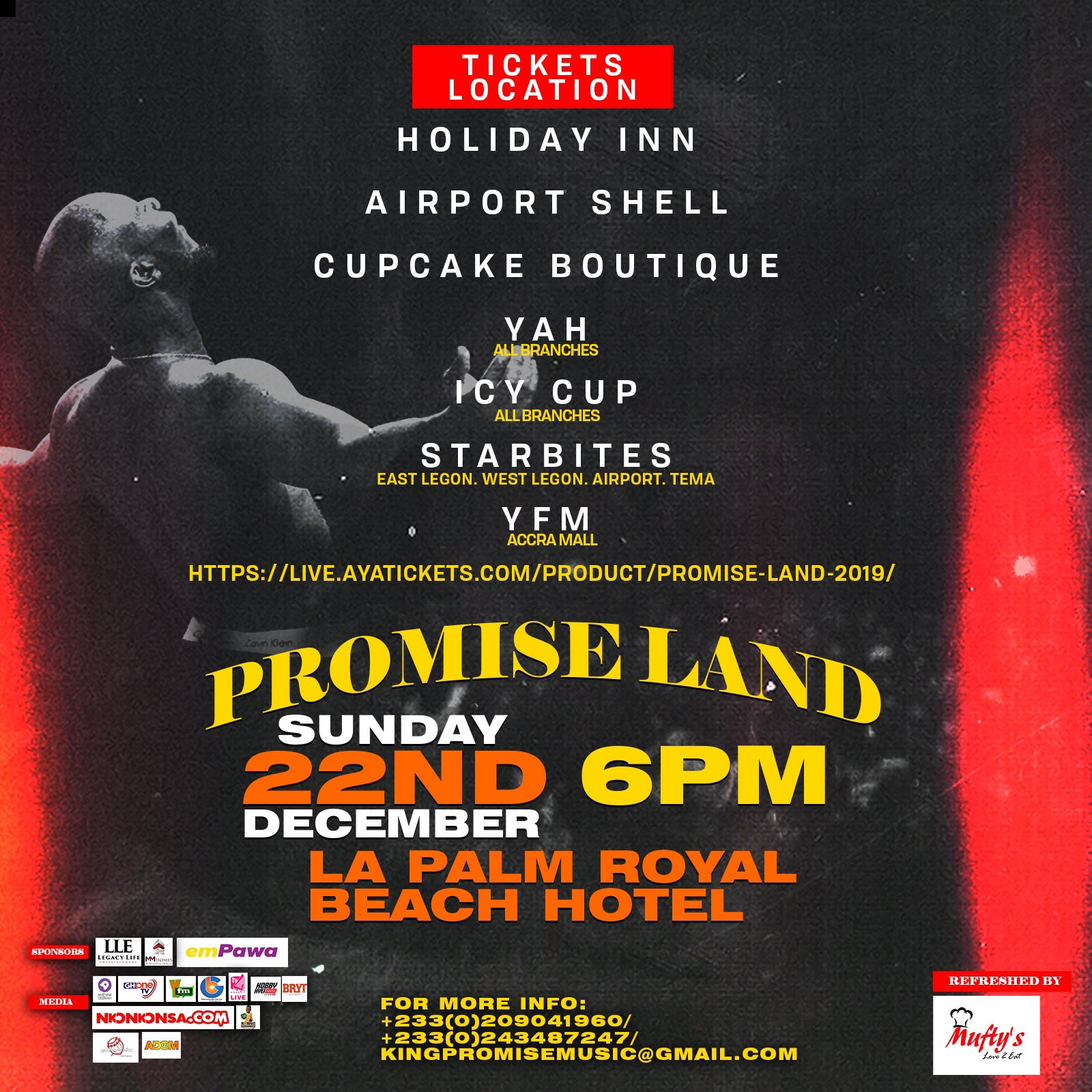 ELBY7WxWkAEqJkq King Promise announces GHS 70 early bird tickets for 2019 Promiseland concert