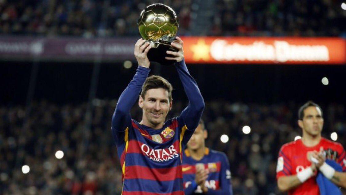 El Barcelona anuncia que Messi ofrecerá el Sexto Balón de Oro a los aficionados antes del Barcelona -Mallorca de este sábado a las 21 horas