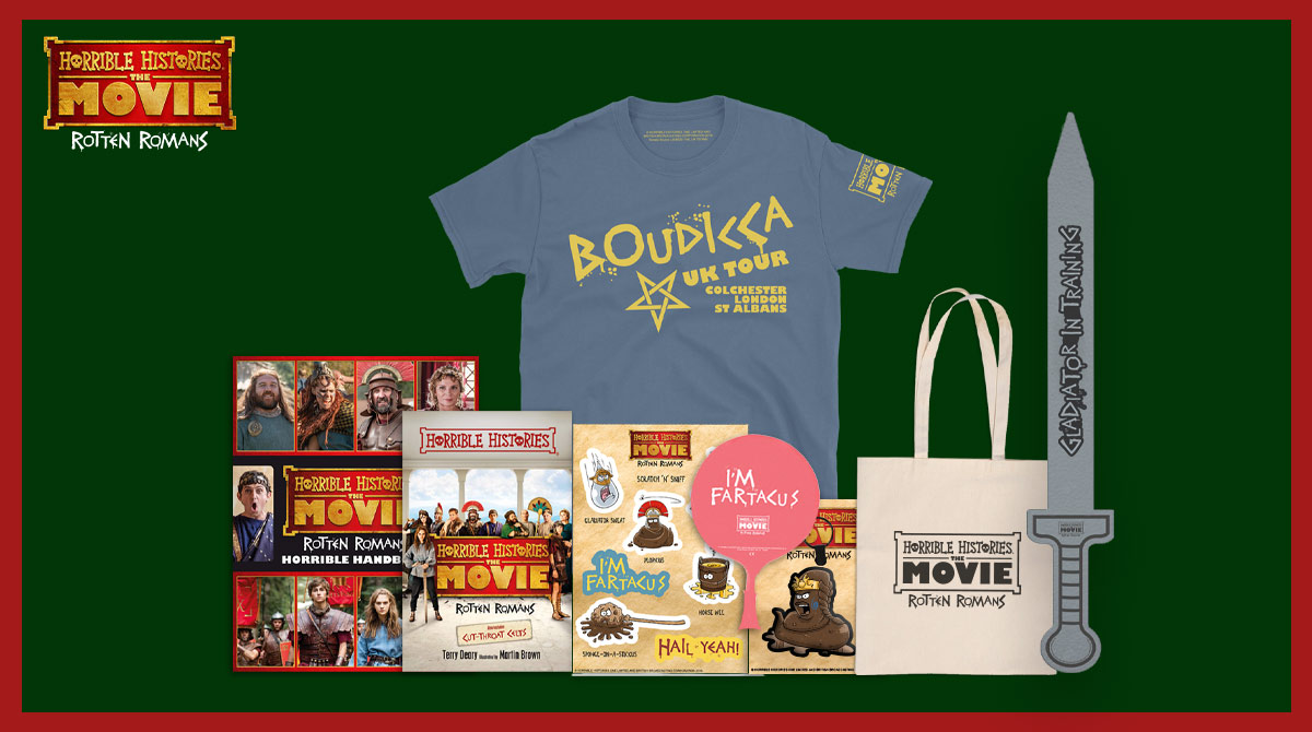 @LornMacdonald_ @r_jacz Its Day 5! RT for your chance to #win our HORRIBLE HISTORIES: THE MOVIE bundle 🎄