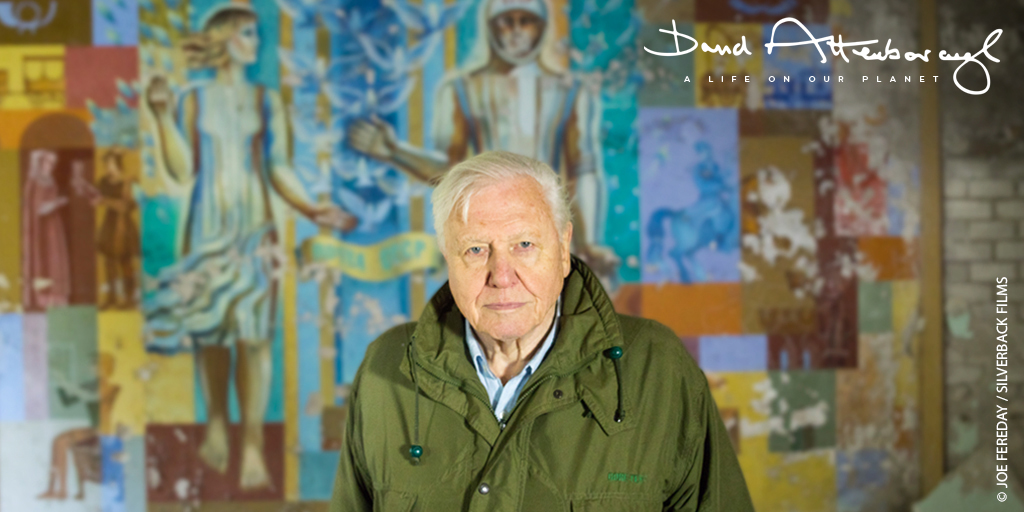 Thrilled to be bringing Sir David Attenborough to the big screen! DAVID ATTENBOROUGH: A LIFE ON OUR PLANET is in cinemas for one night only on April 16, live from the world premiere at @RoyalAlbertHall. Register for updates here: attenborough.film