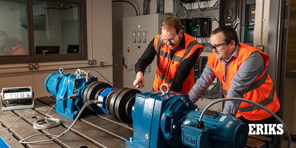 ERIKS have invested in a leading-edge test facility for rotating equipment � saving customers time, trouble and money.