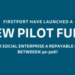 Image for the Tweet beginning: Our new pilot fund has