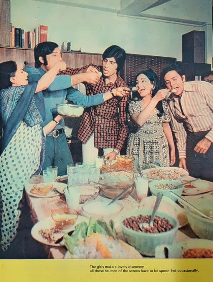 #AmitabhBachchan #VinodKhanna #JayaBachchan #VinodMehra #RadhaSaluja