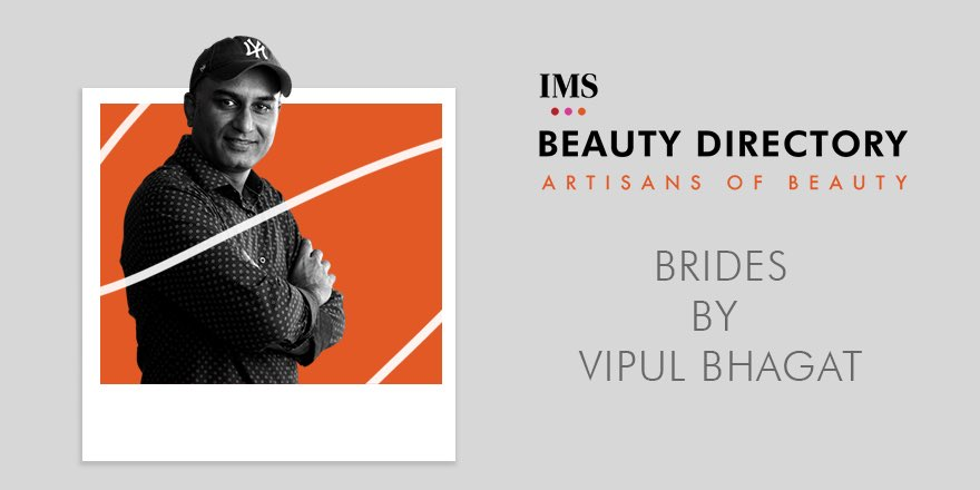The man behind every happy bride's big day, @vipulbhagat13  Head on to the IMS Beauty Directory on http://www.indiamakeupshow.com to check out his complete portfolio and connect with him to get your dream wedding look!  #Bridal #BridalMakeup #VipulBhagat #MakeupArtistpic.twitter.com/6mjyDkTjy5