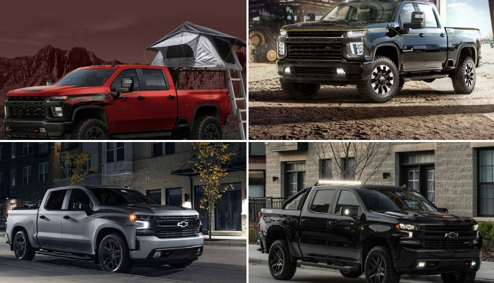 A truck lineup that defines work hard, play hard. Take a look at the concepts and special editions Chevy brought to #SEMA2019.  #chevysilverado #chevycolorado #chevytrucks #crestviewchevy<br>http://pic.twitter.com/wyzZl5wj8q