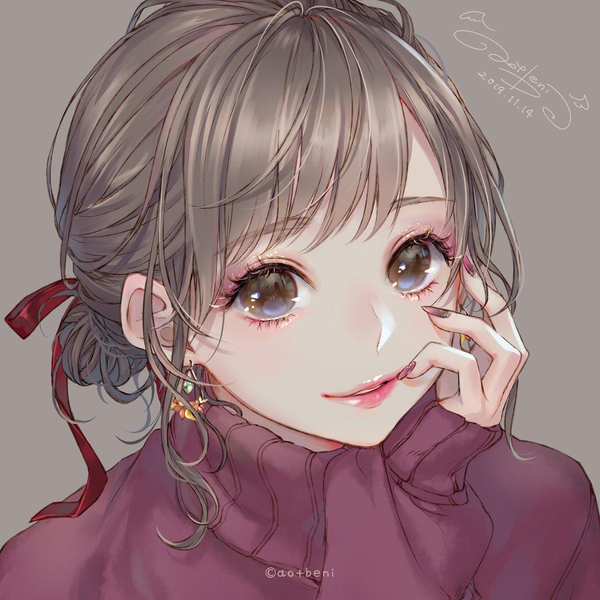 ◆秋色メイク×4◆ 2019ver.どのメイク女子がお好きですか?