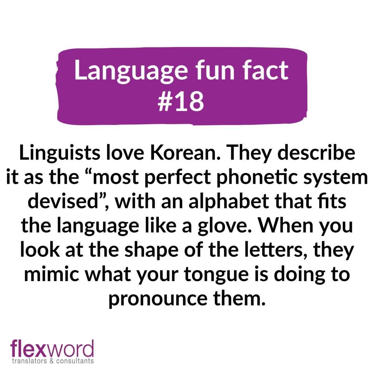 Fun language fact on this cold and gloomy Thursday! 🙂  #language #languagefact #words #korea #korean #koreanlanguage #translation #xl8 #t9n #translators #translatorslife #linguistics #translationagency #funfact #future #languagelearning #languagestudy #languagelover