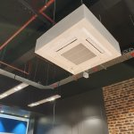 Image for the Tweet beginning: Recently installed Mitsubishi AC Units