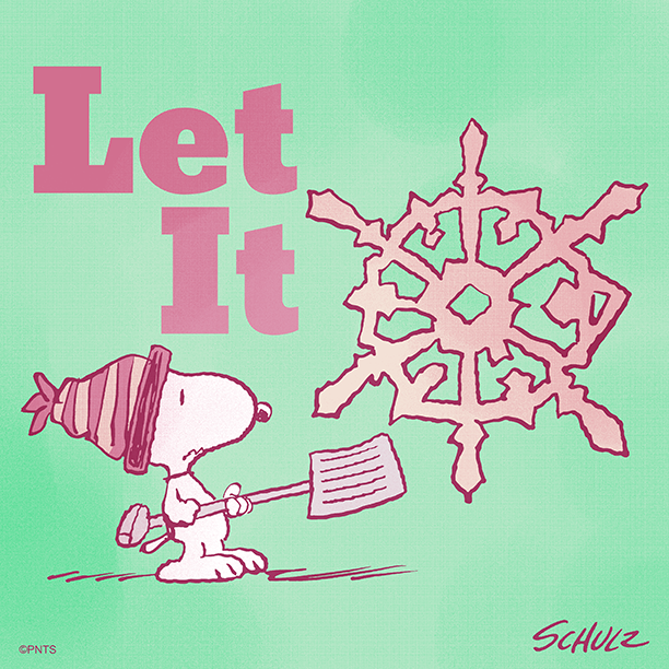Replying to @Snoopy: Let it snow! ❄️