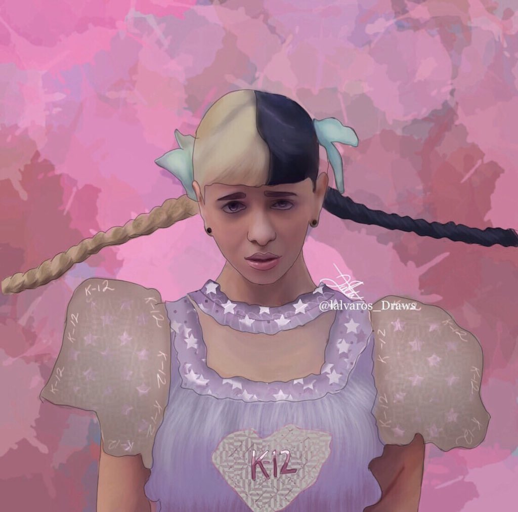 This is for class fight  @MelanieLBBH  ( I have many drawings of melanie) <br>http://pic.twitter.com/hgyBMCebZu