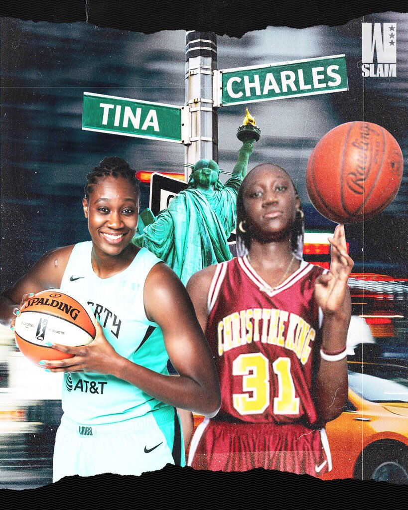 Shout out to a NYC legend on her g day 🤞🏽 @tinacharles31 https://t.co/nrib0iTPLJ