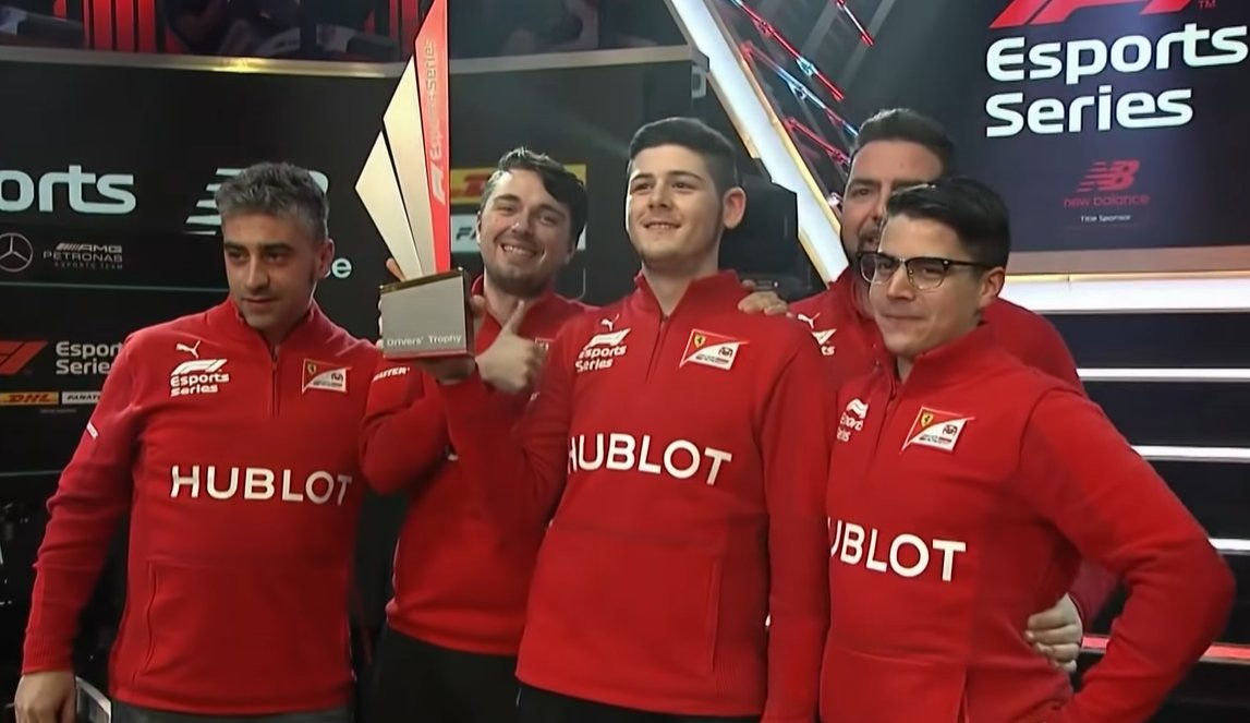 Last night, @David_Tonizza was crowned as 2019s #F1Esports Champion 👑 Take a look at the Top 5 moments from last nights action over on @F1s YouTube Channel ▶ buff.ly/2OUGPsi