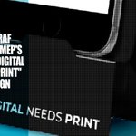 Image for the Tweet beginning: Digital Needs Print? - INTERGRAF