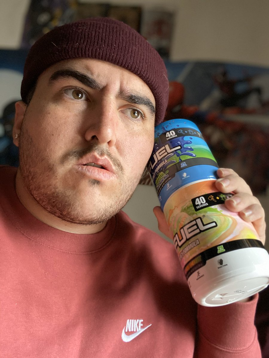 Ayy what up @GFuelEnergy .. yeah I got that good good!! Much love!❤️ https://t.co/7OfWkeTkb8