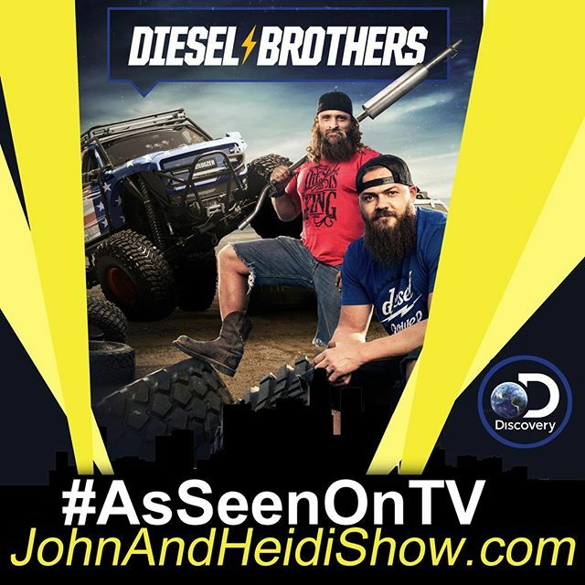 John and Heidi Show on Twitter: MONDAY we visit with Heavy D & Diesel Dave about the new season of DIESEL BROTHERS. (Mon, Dec 9 at 8pm ET/PT on #DiscoveryChannel) You can join the conversation by using the hashtag #DieselBrothers (follow them on social media for updates)  #HeavyD #Dies…