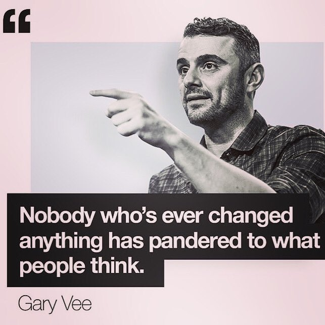 Following @garyvee for a couple of years, thank you Gary, you inspire a lot of people me included. Hopefully one day I'll meet you and will tell you that in person.#ThursdayMotivation #startup #garyvee #Motivation