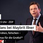 Image for the Tweet beginning: Heute 22.15 Uhr @ZDF einschalten!