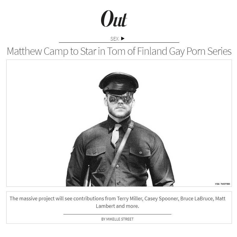 "Honoring the 100 year anniversary #TomOfFinland, @Men is dropping a series of erotic films starting Dec 13.   It kicks off with ""Tom of Finland: 1957"" starring @MatthewCampNYC @KurtisWolfe and @Theo_Brady  READ @MikelleStreet for @outmagazine  http:// tinyurl.com/vqkxlrp      <br>http://pic.twitter.com/uOalCNq6u2"