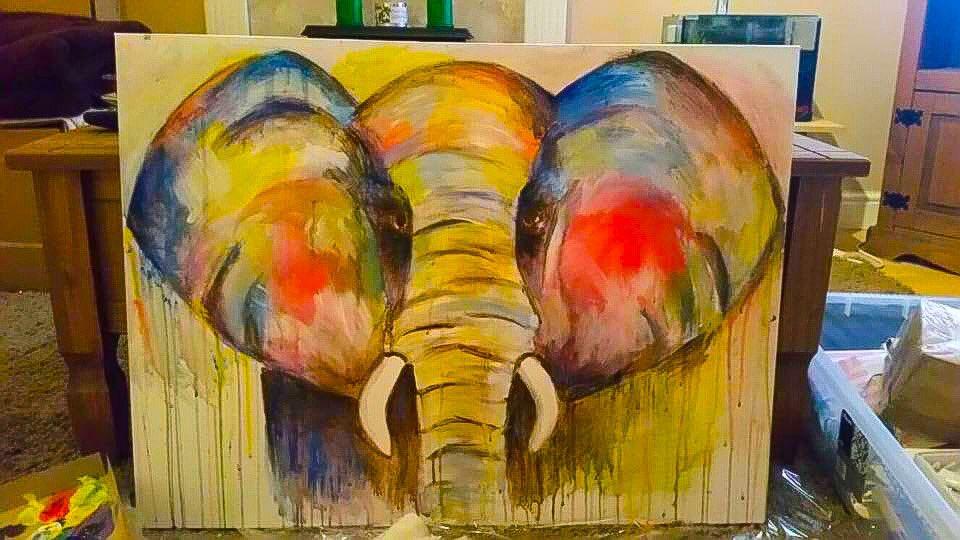 #art #artist #drawing #artwork #creative  #photography #illustration #painting #sketch #design #instagood #arte #digitalart #artistsoninstagram #draw #like #paint #animalart #elephant #instaart #colours #beautiful #ink #contemporaryart  #nature #colours #instagram #creation #uk