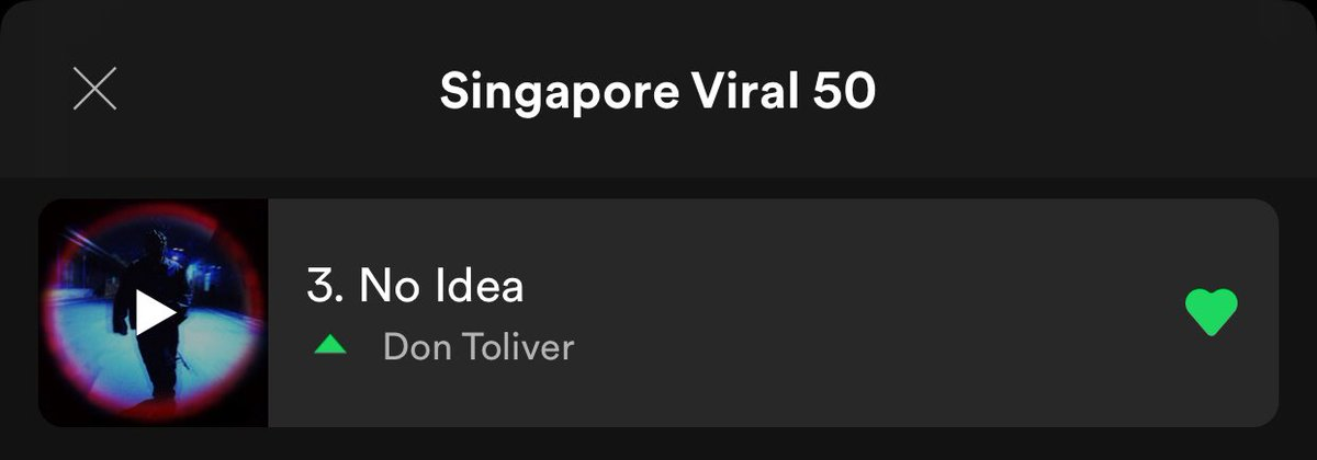 don toliver 3rd on the singapore viral 50 big W <br>http://pic.twitter.com/8riuLUzNW9