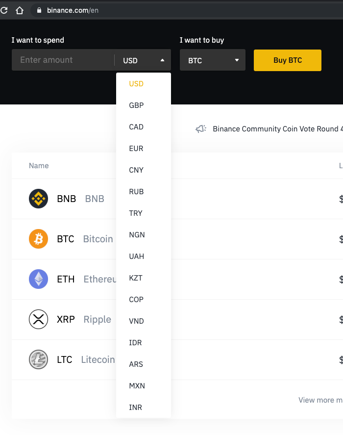 """test Twitter Media - Is it just me, or did this list get longer again today?  @binance just """"silently"""" added new fiat channels for $RUB, $VND, $IDR, $NGN, $COP, $GBP, $MXN, $CAD, $EUR, $ARS  Don't argue, #buidl. https://t.co/h8pjV6CuKZ https://t.co/c4heROb2f4"""