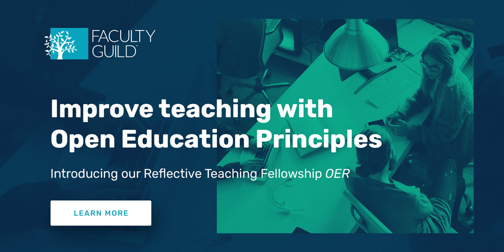 Teaching with #OER in the new year? Registration is now open for our seven-week Reflective Teaching Fellowship OER – with flexible start dates in February, March and April 2020. Learn more https://t.co/ce3Eh7866y #facdev #teachingsuccess is #studentsuccess https://t.co/IdD42arrTe