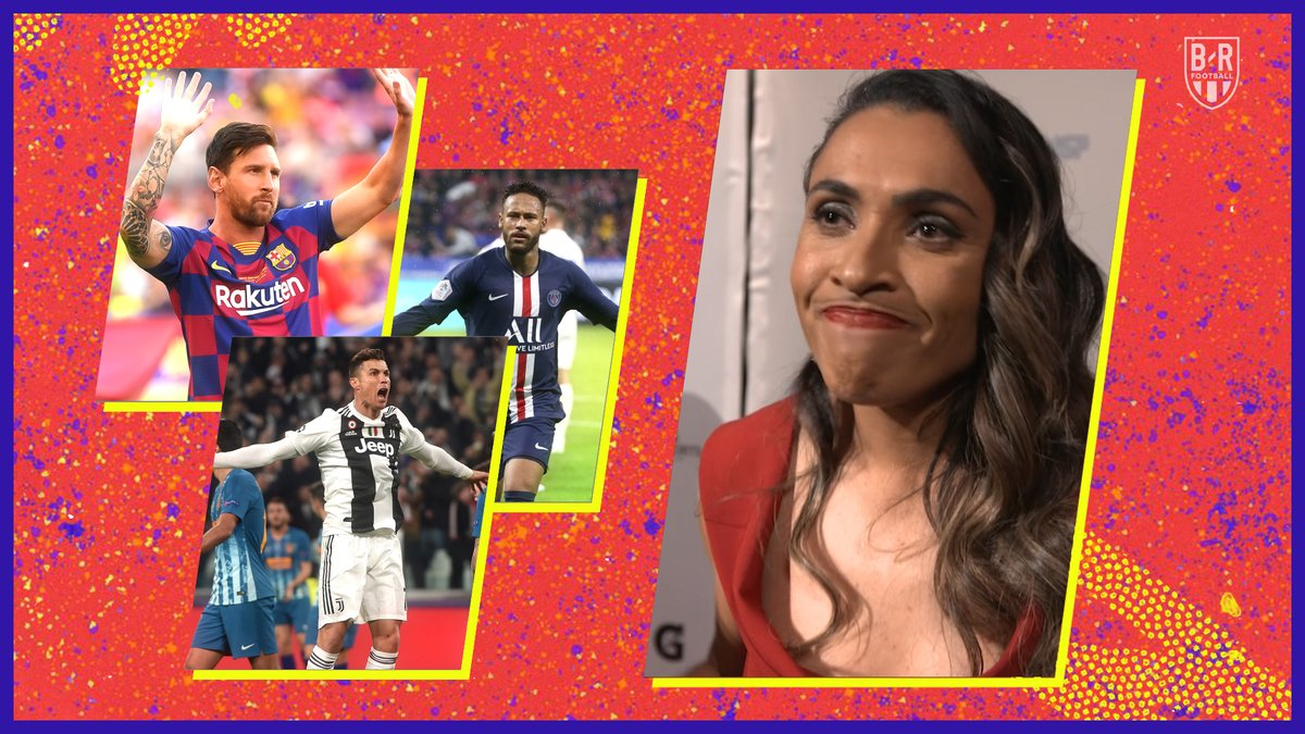 Marta talks G.O.A.T. moments and players 🐐