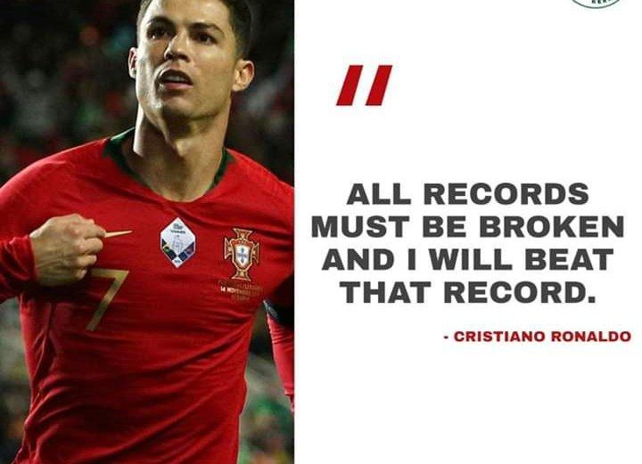 Remember the Name: Cristiano Ronaldo.  #BallonDor