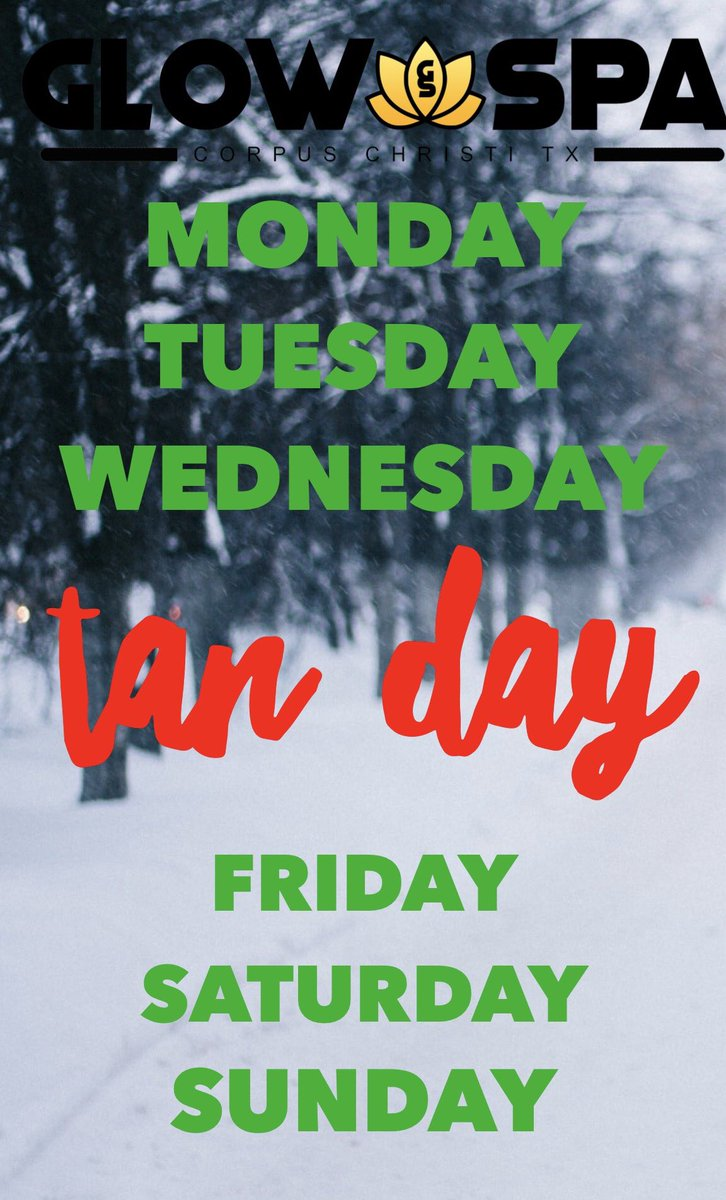 Come tan today! #tanthursday #CorpusChristi #cctx #glow #tan #tanningbed #Boutique #shoplocal #shoplocalcc