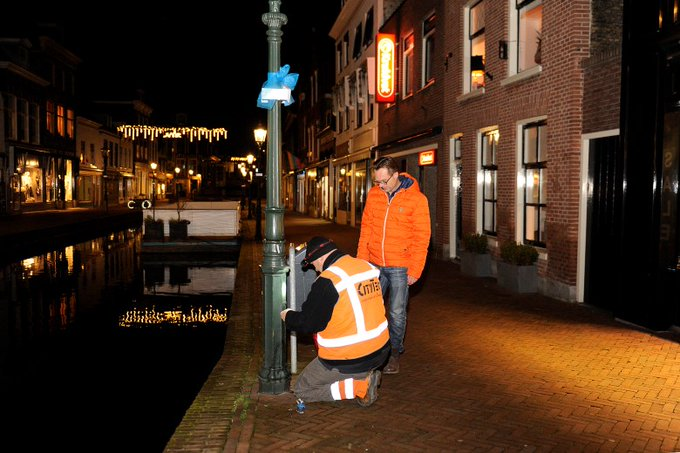 Historische straatverlichting binnenstad Maassluis hersteld https://t.co/MfVlX6c3EB https://t.co/qPjvPchNre