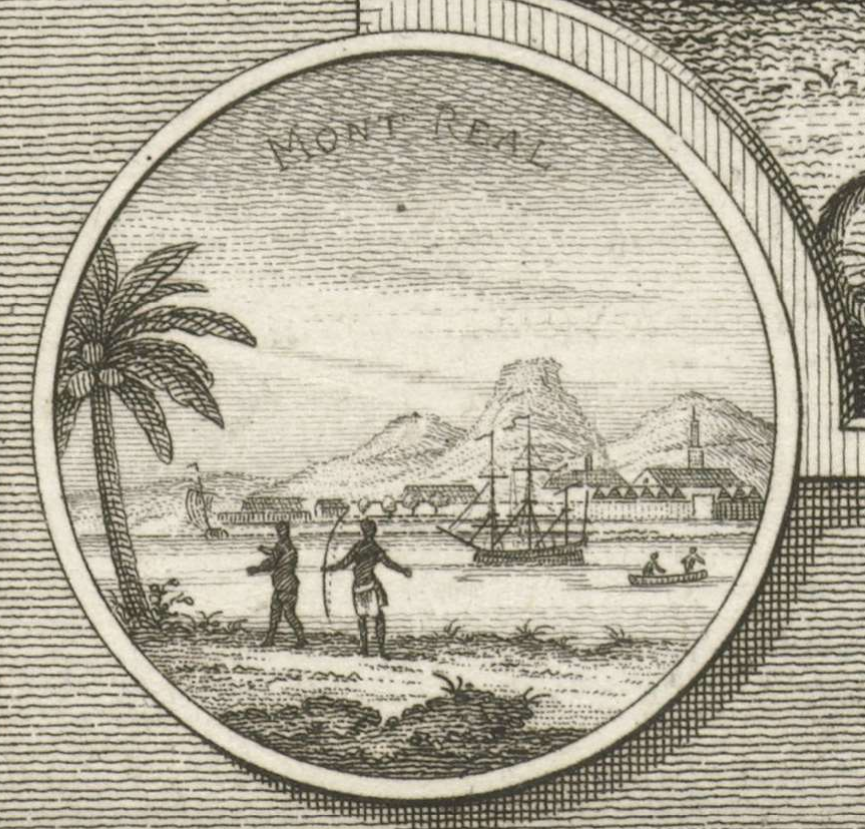 Ahhh good ol' tropical Montréal.... (yes yes, I know palm trees in Canada are motifs, but they crack me up every time they appear in #17thcentury and #18thcentury engravings.) Ontmoeting tussen twee ontdekkingsreizigers en een indiaan  https://www. rijksmuseum.nl/en/collection/ RP-P-OB-60.139  … <br>http://pic.twitter.com/Q0XrFNsaIU