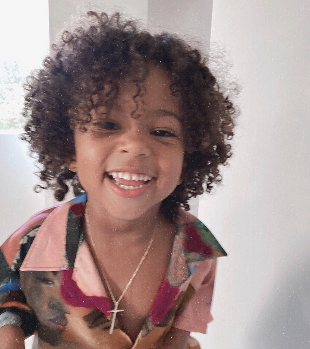 I have no words to describe how much I love your smile and those curls of yours Saint! You bring so much joy into my soul. You're so kind, loving, and just so thoughtful and sweet! Happy 4th Birthday my sweet sweet Sainty