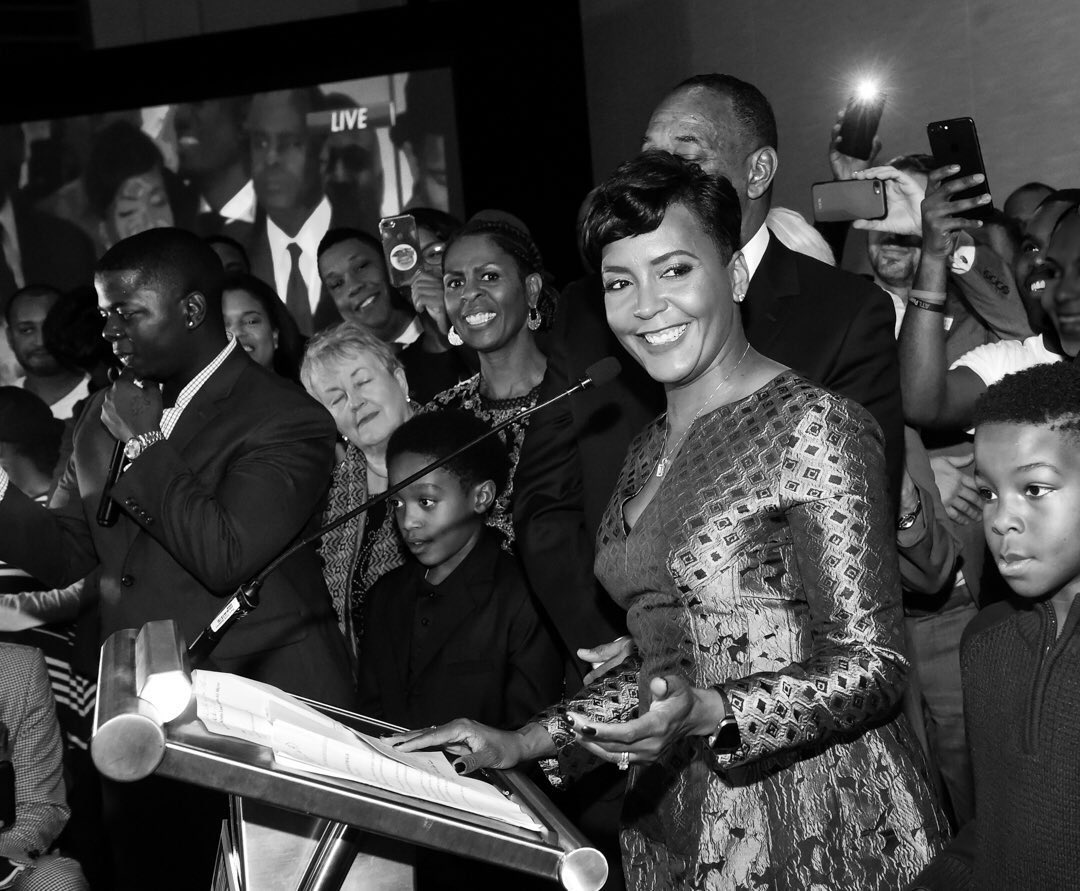 Two years ago today, Mayor @KeishaBottoms won the election to become the 60th Mayor of Atlanta. In the belief of #OneAtlanta, we will continue to work to build a more affordable, resilient, and equitable city. The best is yet to come! #TBT