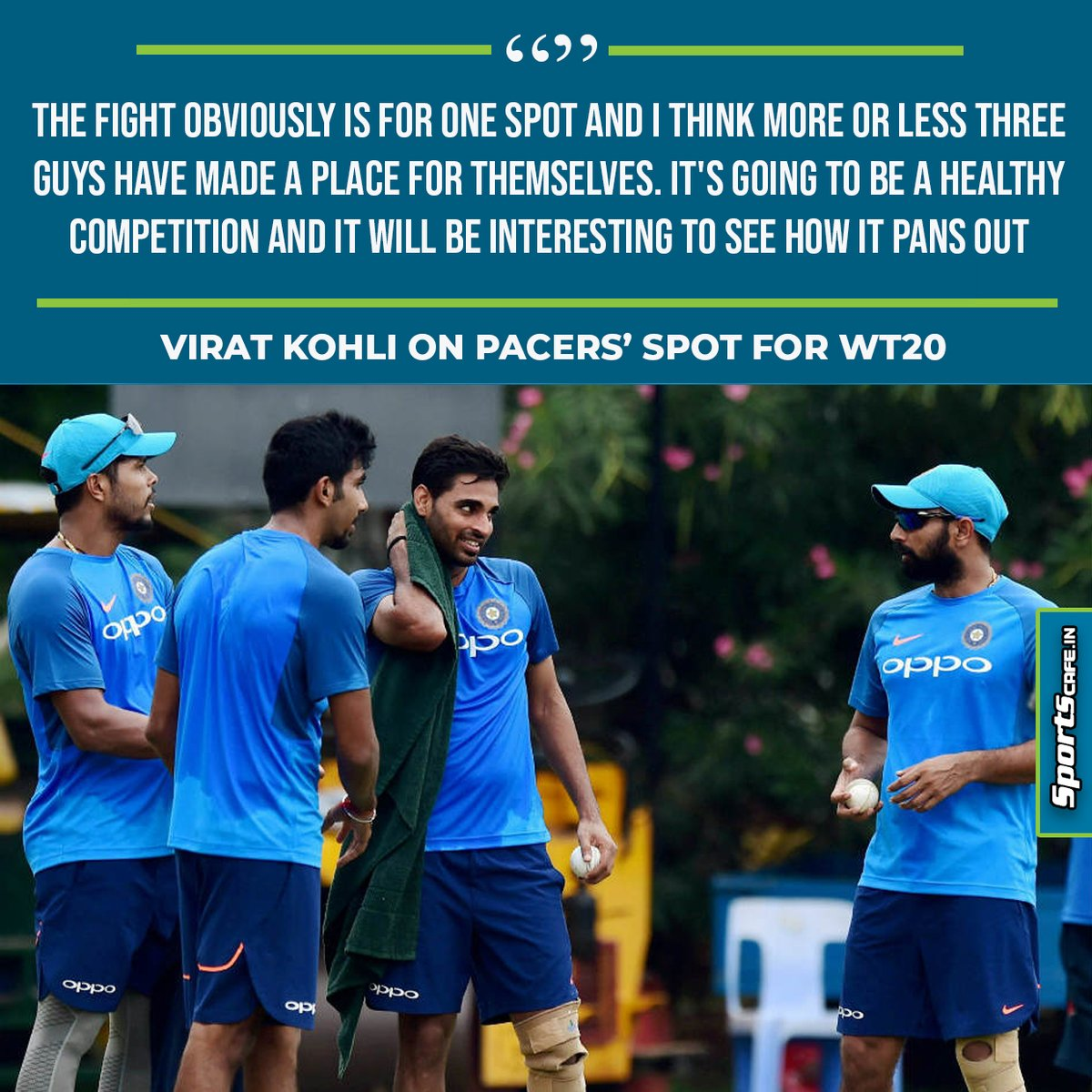 Kohli on Pacers