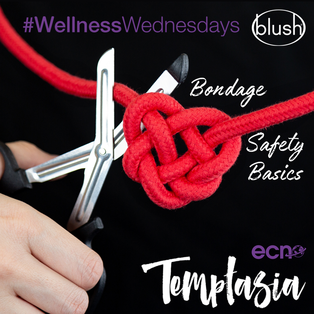#LatePost 🖤 ECN x @Blush_Novelties present #WellnessWednesdays 🖤 Having Temptassia Safety Scissors in your kit means your play partner can feel safe with and you are ready for a worst case scenario. You never know when your partner may experience an asthma attack, chest pain...