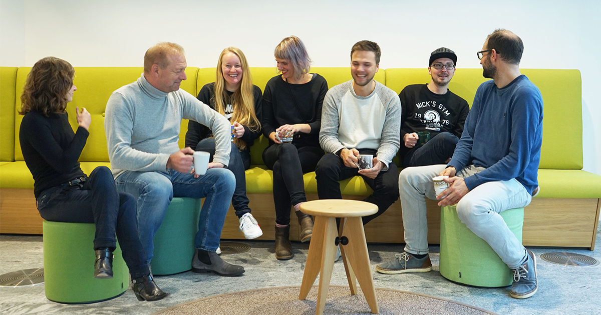 Meet the #DesignOffice. With their concentrated #userexperience expertise they support our strategic projects.    #whoweare #whatwedo #disrupt #mut #usercentreddesign #haufegroupfreiburg #butfirstcoffee #lovewhatyoudo https://t.co/oAmkoX3j2J