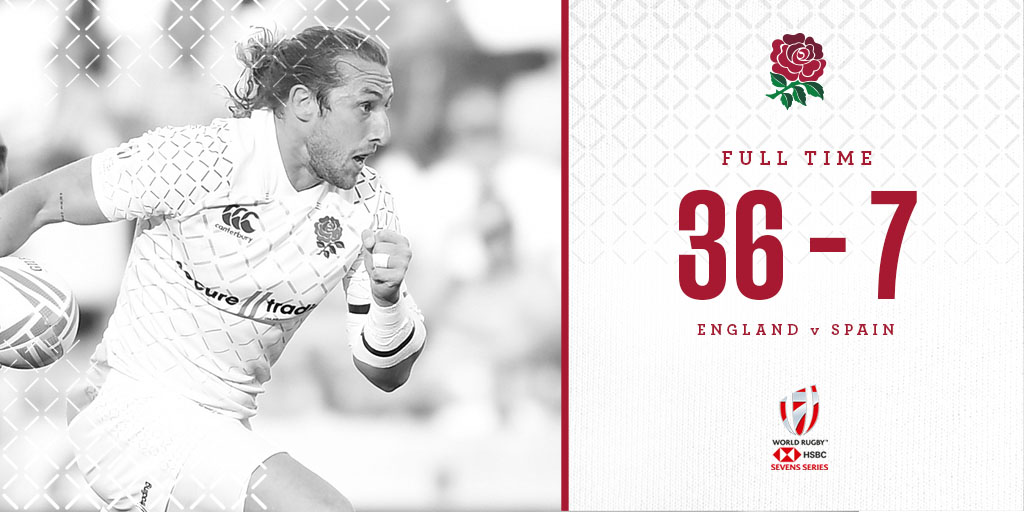 test Twitter Media - England men get their #Dubai7s campaign off to a winning start with a convincing victory over Spain 🌹 https://t.co/dB3ySJJqPA