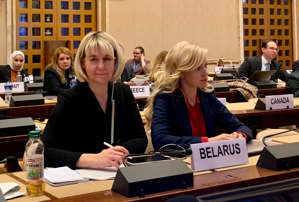 🇧🇾On 3 – 4 December 2019, the 3rd session of the @UNECE Working Party on PPP took place in Geneva. The Belarusian delegation was headed by Ms. Iryna Kalenchak of @economy_gov_by. During the session #Belarus was elected as Vice-Chairman of the Bureau of the Working Group.