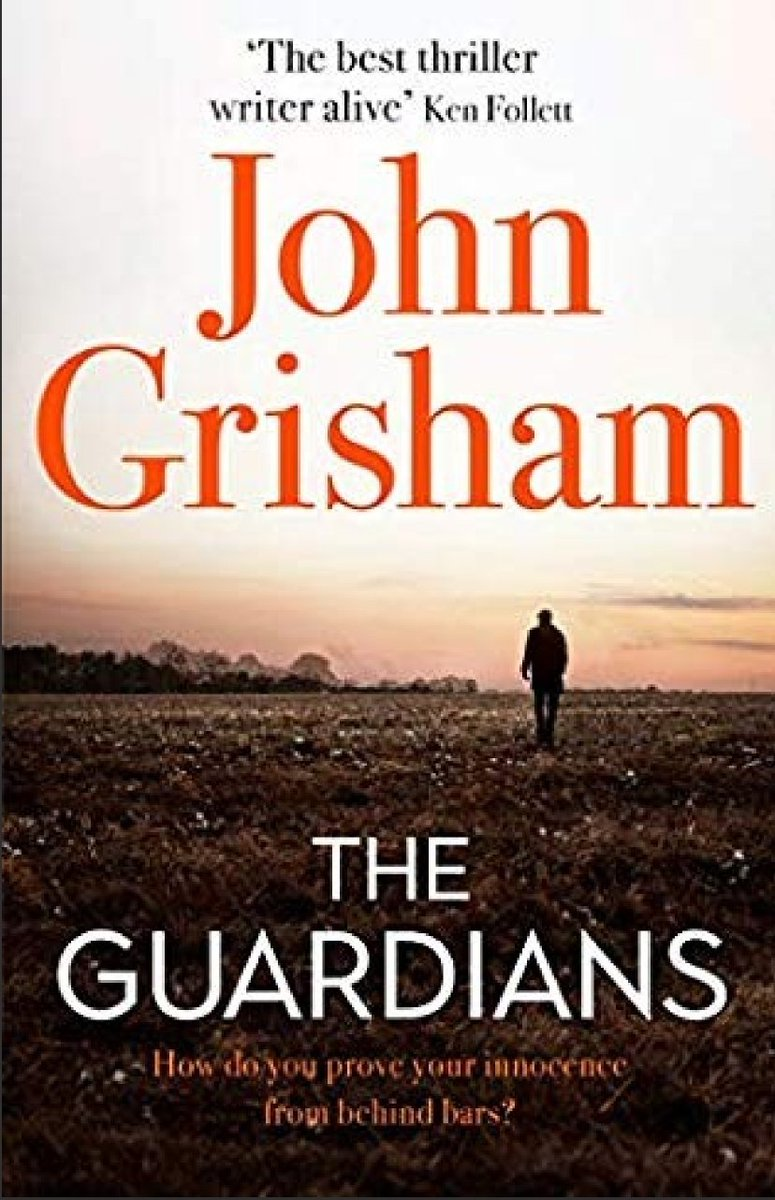 Addicted to it and I've longed for a good plot and an incredible character! @JohnGrisham one of the best books I've read this year! I started it last night and I haven't put it down! #TheGuardians #JohnGrisham #legalthriller #booklovers