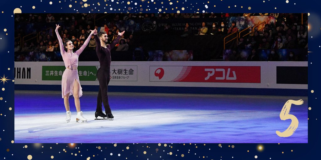 Ils ont marqué 2019   #5 Le 23 mars, Gabriella Papadakis et Guillaume Cizeron ont été sacrés champions du monde de #dansesurglace pour la 4e fois à Saitama (Japon). Deux mois après avoir remporté un 5e titre européen consécutif.   CNOSF/pressesports<br>http://pic.twitter.com/yfrGVuAlGQ