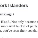 Image for the Tweet beginning: Latest Power Rankings #Isles