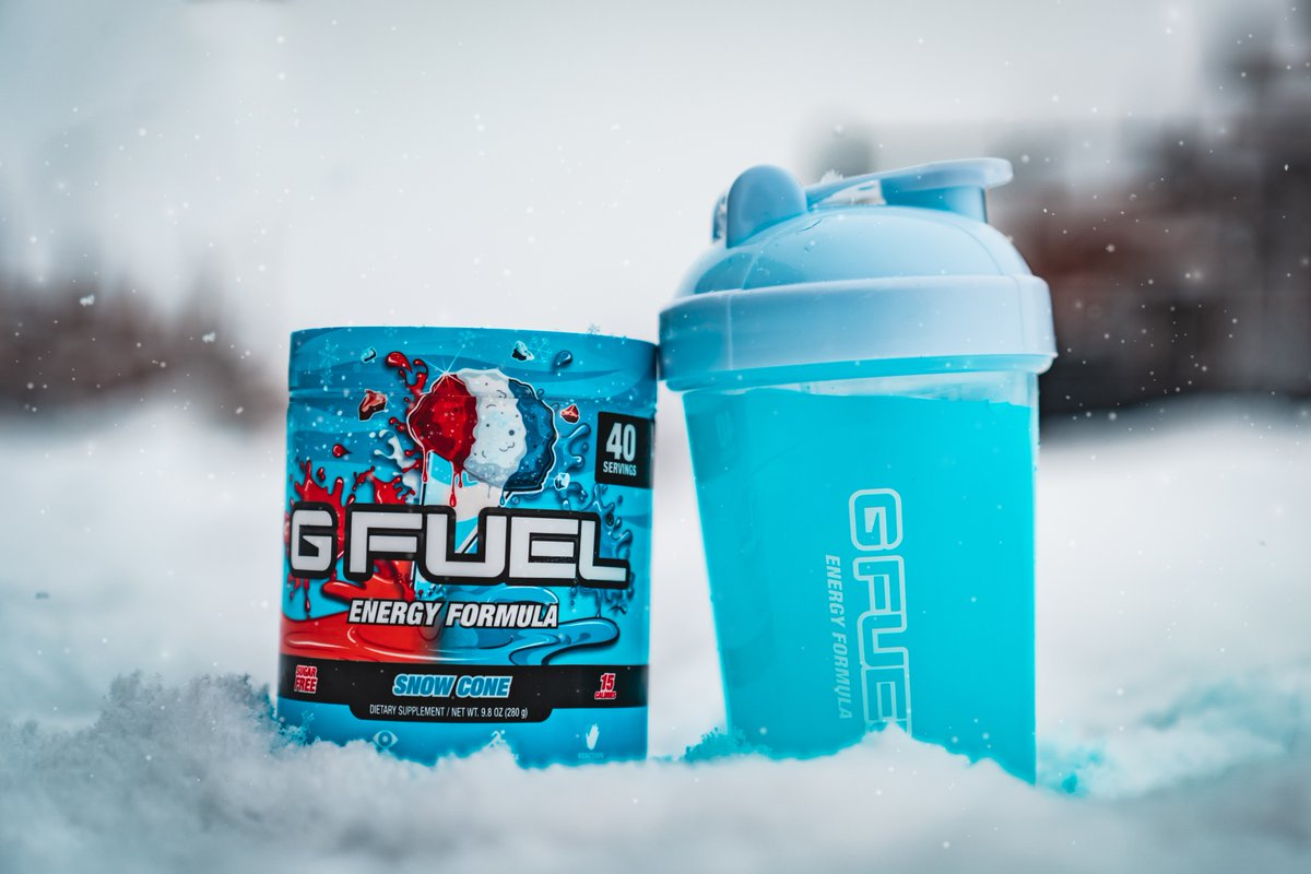 What's the flavor for today? ❄️🤔 @GFuelEnergy | @GammaLabs https://t.co/G7gk0C9nW4