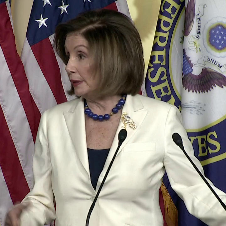 Nancy Pelosi Snaps At Reporter Who Asked If She Hates Trump: 'Don't Mess With Me'