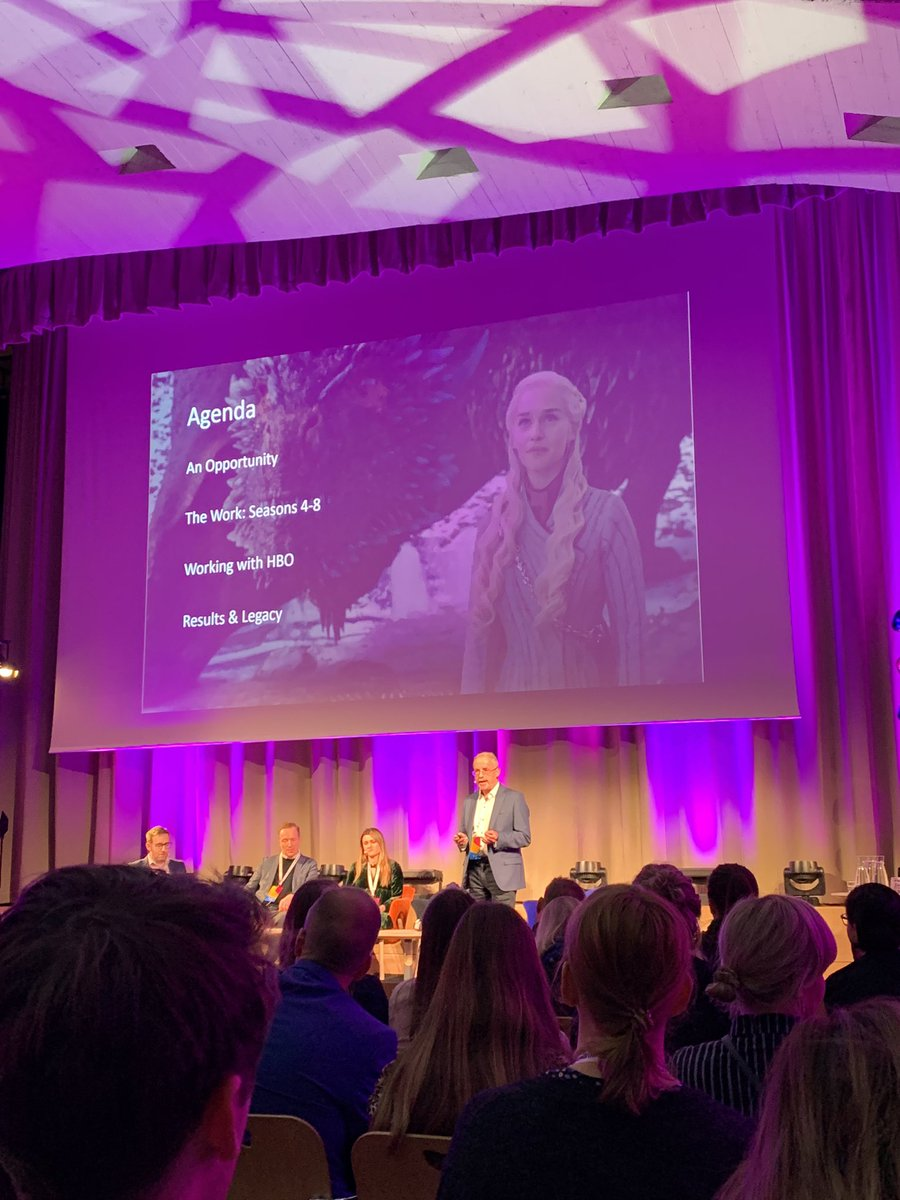 Inspirational and insightful learnings at #DTTT2019 from destinations around the world. In particular this Game of Thrones and Northern Ireland collaboration, bringing fans to the destination for years after the show. #untilnextyear #GameofThrones<br>http://pic.twitter.com/0leg12rIih