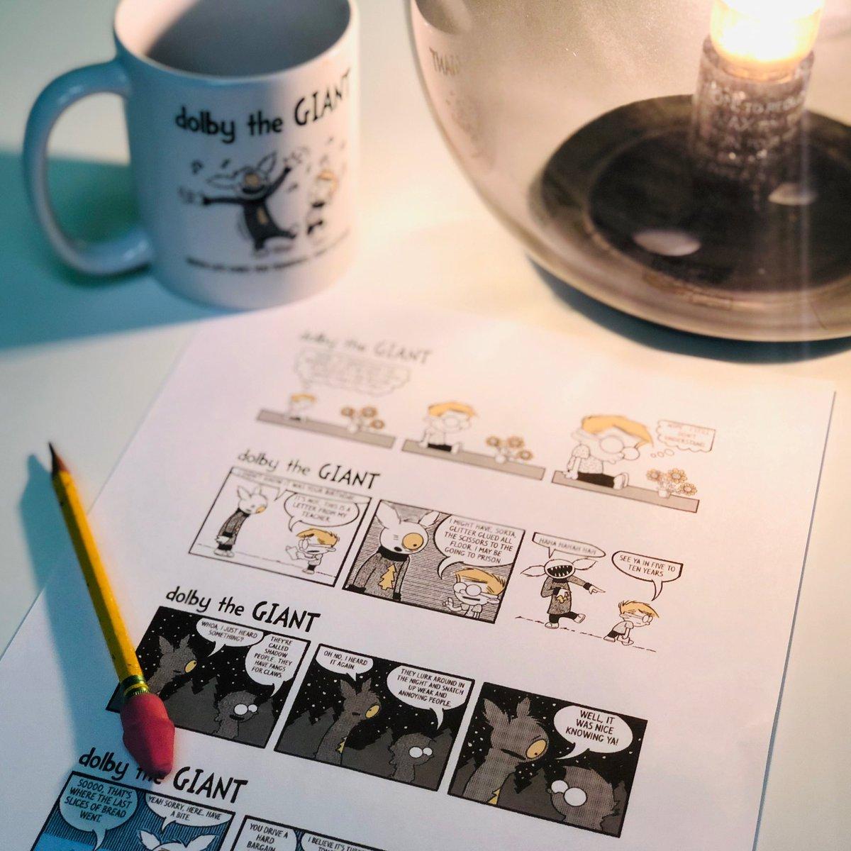 Just soaking in that new comic glow. Launching January 1st! #art #comics #comicbooks #comicstrip #humor #funny #nerd #comicbooknerd #comicbookart #doodle #cartoon #cartooning #dailycomic  #artwork #webcomic @promotecomics